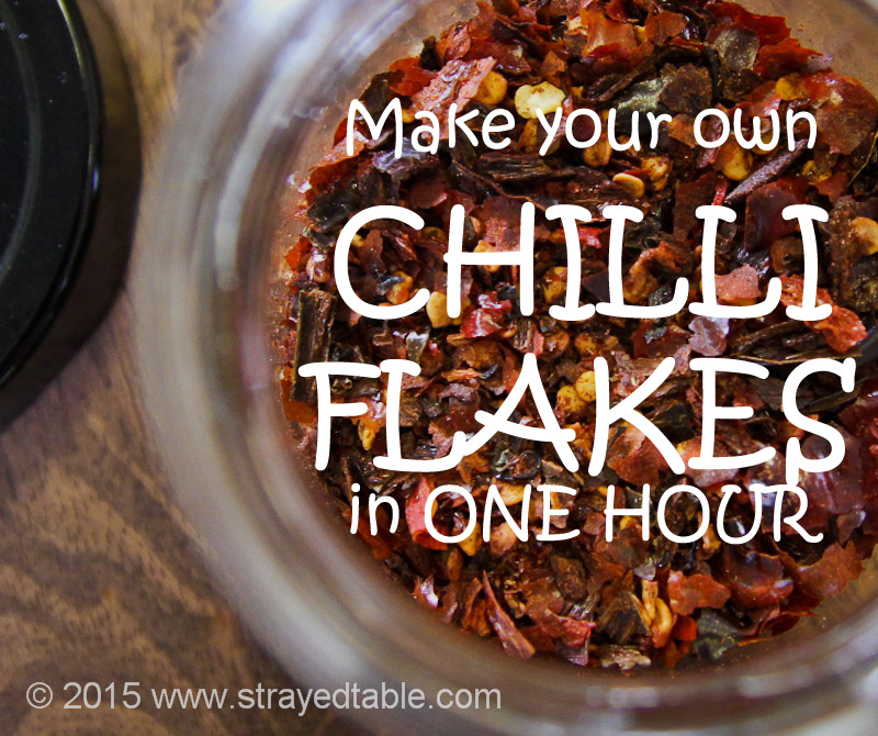 Make Your Own CHILLI FLAKES in One Hour