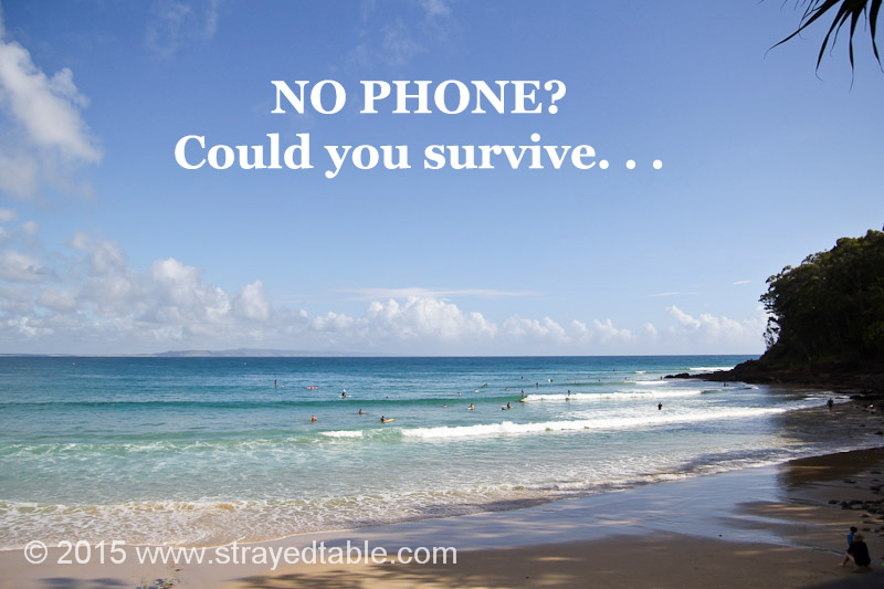 No phone? Could you survive