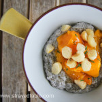 Chia Pudding with Coconut, Mango & Macadamia