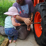 FIXING THE TRACTOR TYRE
