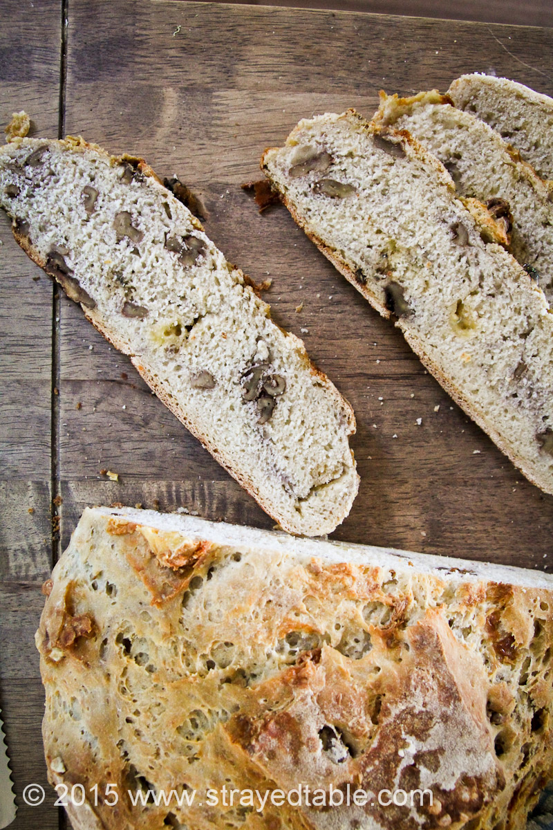 WALNUT & BLUECHEESE SOURDOUGH RECIPE