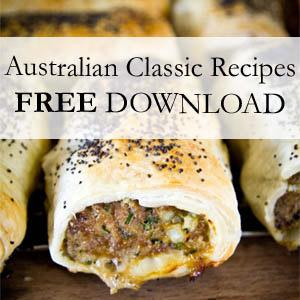 Australian recipe ebook free strayed from the table free australian classic recipe ebook forumfinder Gallery
