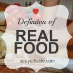 Definition of Real Food
