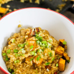 Pumpkin & Brown Rice Risotto