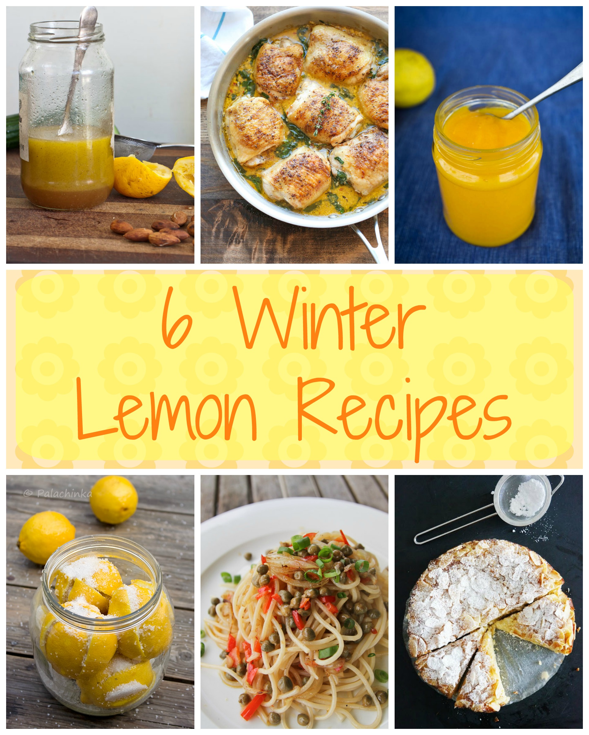 6 Winter Lemon Recipes