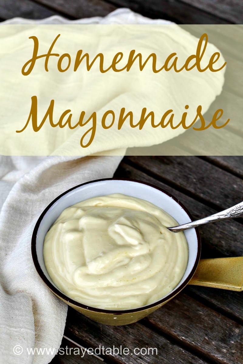 DIY Homemade Mayonnaise