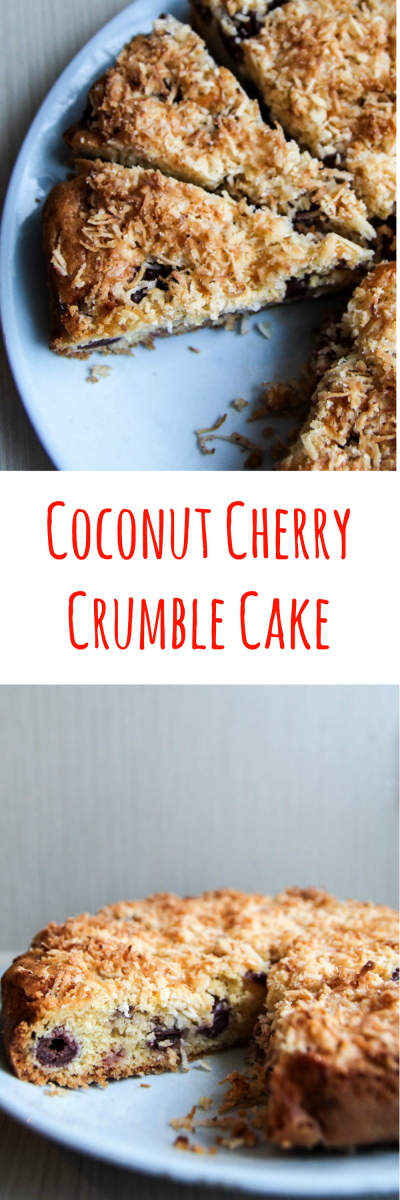 Cherry Coconut Cake Recipe