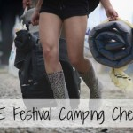 Festival Camping Checklist | Free Download