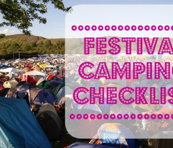 Festival Camping Checklist | Free Download Thumbnail