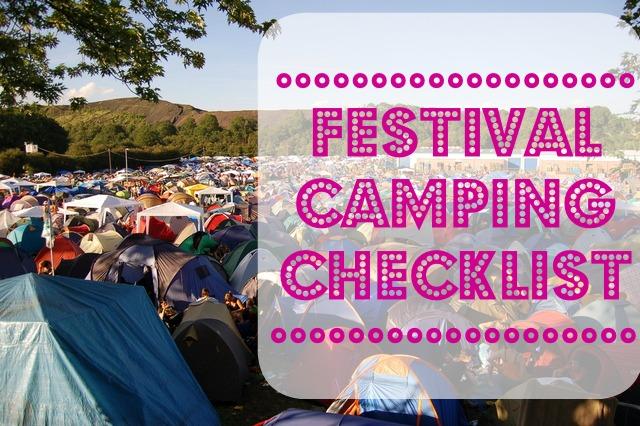 festivalcampingchecklist