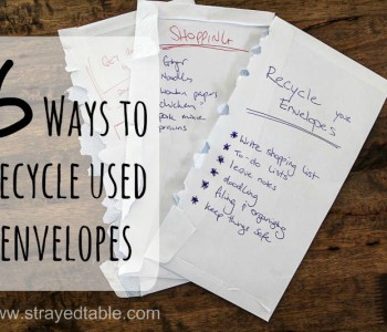 Six Ways to Recycle Used Envelopes Thumbnail