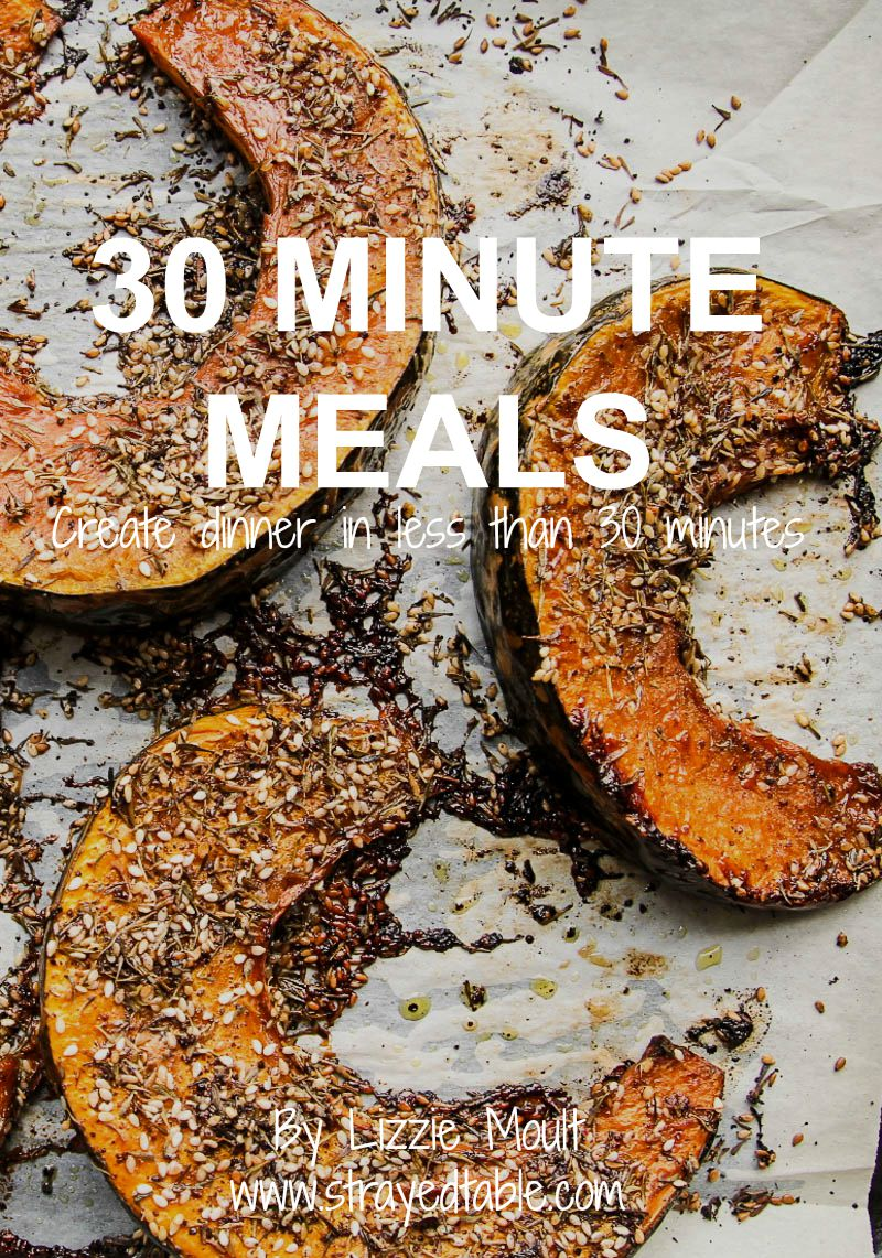 30 min meal cover