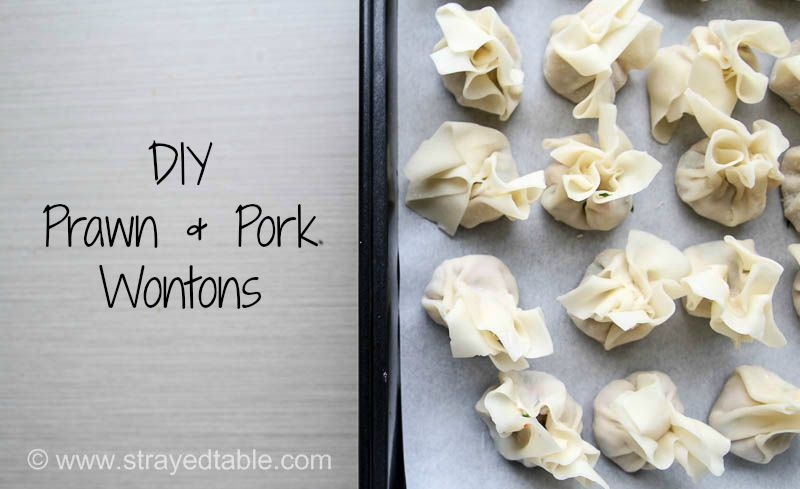 Simple Pork & Prawn Wontons