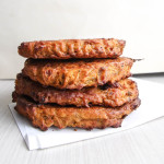 Pumpkin & Yellow Split Pea Burgers | Oven Baked