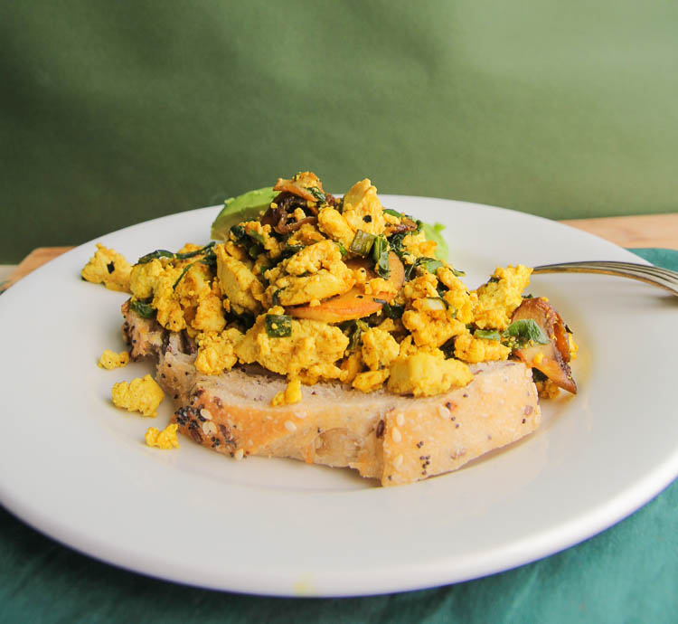 BEST Scrambled Tofu Recipe