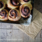 Sourdough Cinnamon Scroll Recipe