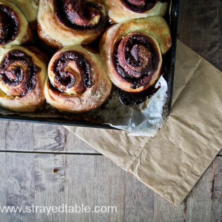 Sourdough Cinnamon Scroll Recipe